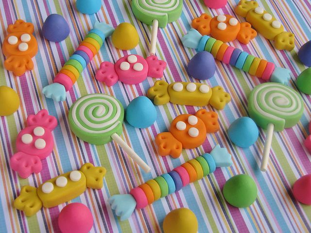 good price: Candy Land Cakes, Cupcakes Toppers, Cakes Decor, Candy Girls, Fondant Candy, Girls Cakes, Polymer Clay, Porcelain Cold, Candy Cupcakes