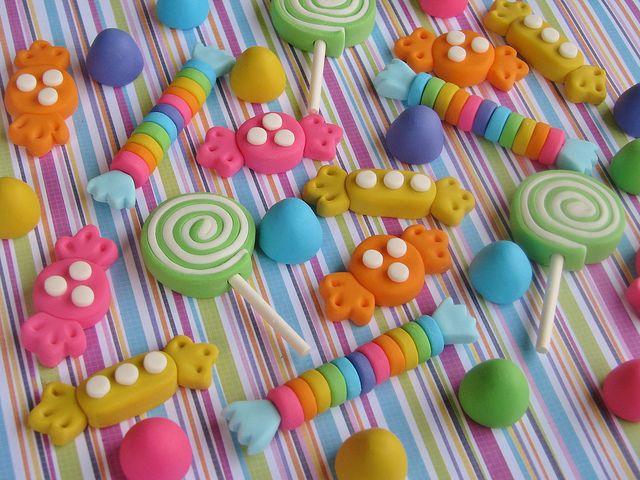 Imanes Candy. Hermosos.