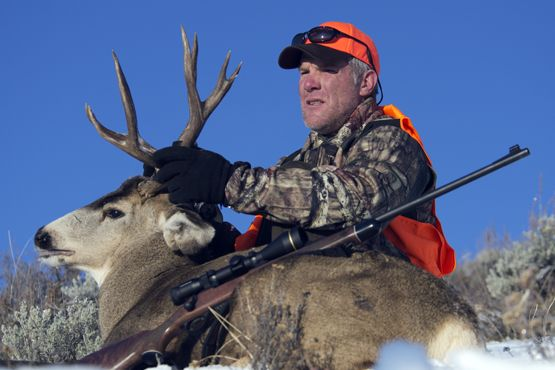 Official Website of Brett Favre » News » Rookie Season: Brett Favre's First Mule Deer