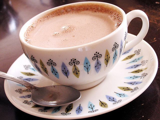 Crock Pot Thick & Creamy Hot Chocolate | Foods | Pinterest