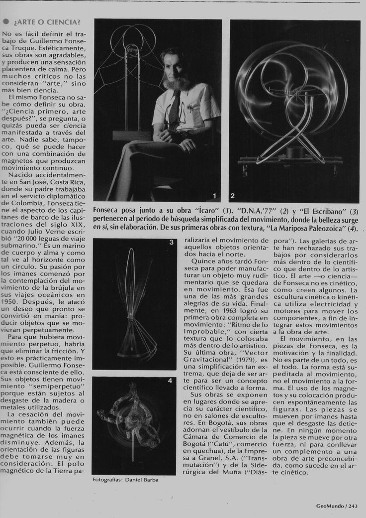 Guillermo Fonseca Truque article.