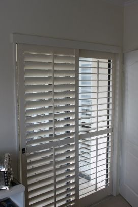 Patio shutters - Control the amount of light you let in