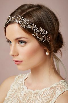 Gorgeous headpiece @perfectpalette #BHLDN