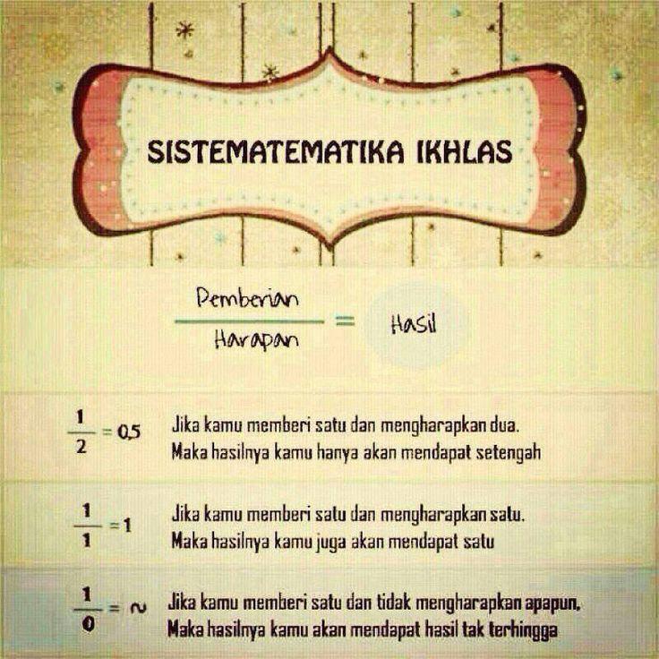 Sistematematika Ikhlas