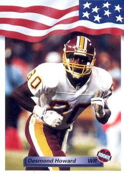 1992 All World #15 Desmond Howard Front