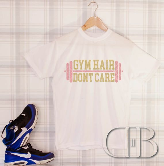 Contemporary Gym hair dont care womens gym wear ladies womens