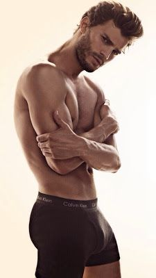 Jamie Dornan ohhh hello Christian Grey See what I did there? Room by Room Mr. Grey....Room by Room!