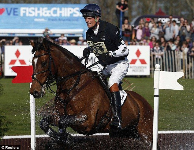 Riding star: World number one William Fox-Pitt will also be part of Team GB at the World Equestrian Games
