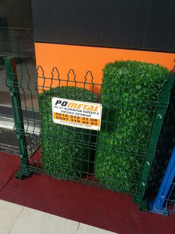 Dekora çim çit rulo