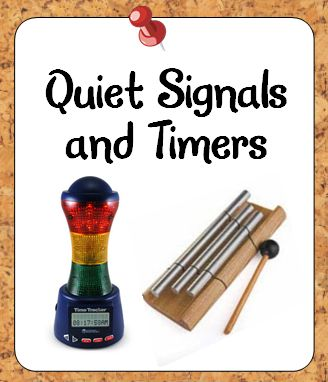 Information about quiet signals and timers for the classroom as well as tips for using them effectively