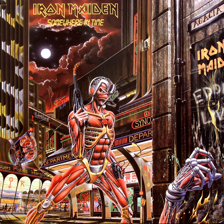 IronMaidenWallpaper.com - Album Covers