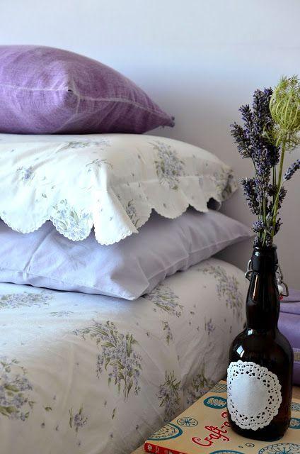 Nuance lilla per la mia camera da letto