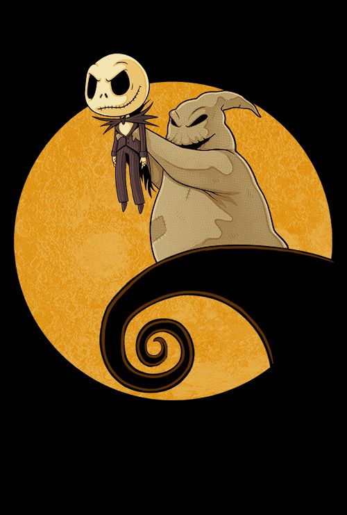 The Nightmare Before Christmas/ The Lion King mashup | El rey Leon Tim Burton fan art