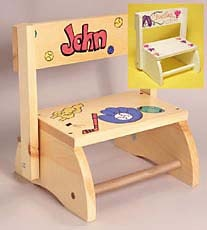 Personalized+Wooden+Step+Stool+-+%23Christmas+%23ideas