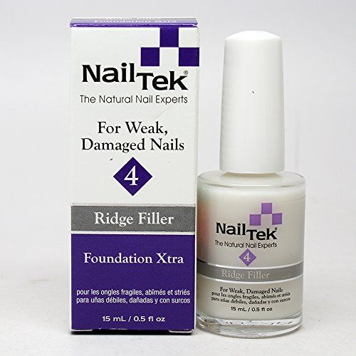 Nail Arts Nail Tek 4 Ridge Filler Foundation Xtra 0.5oz * Find out more about the great product at the image link.