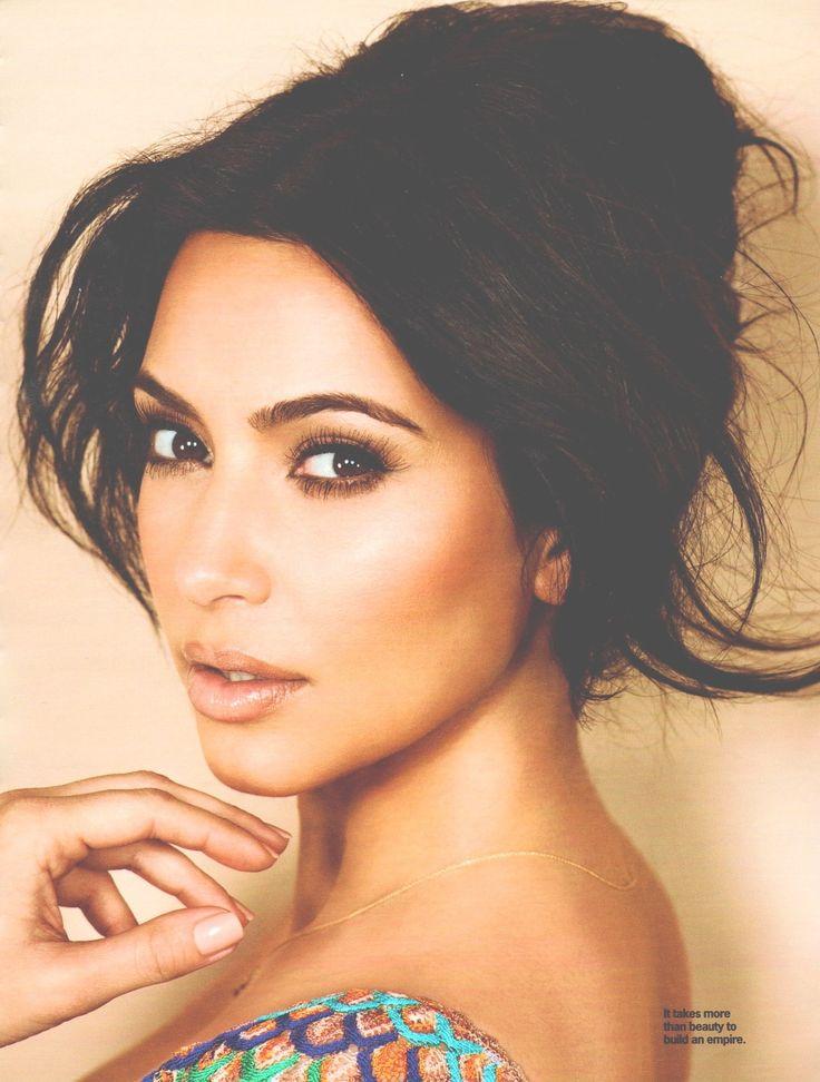 Kim Kardashian..have to admit she's absolutely gorgeous.