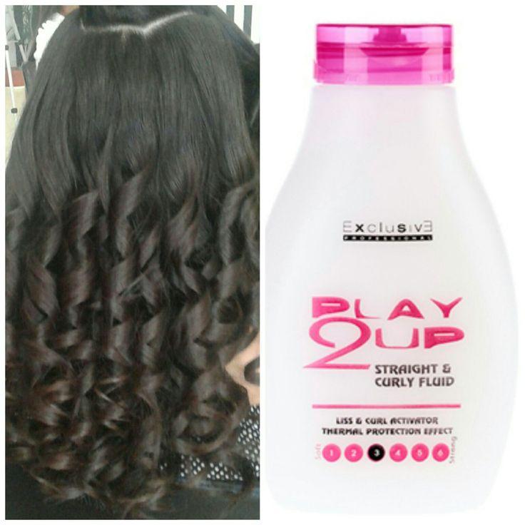 Straight & Curly. Exclusive Professional. Rizos duraderos y definidos.