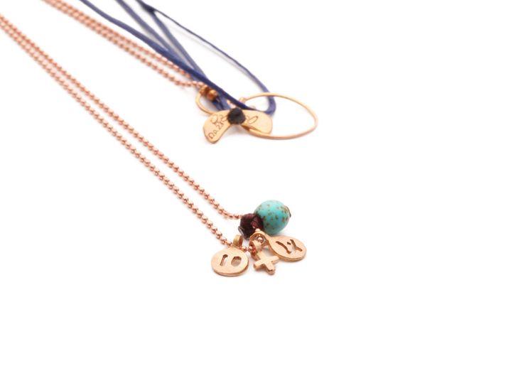 new years charm 2014 necklace gold www.apriati.com/shop