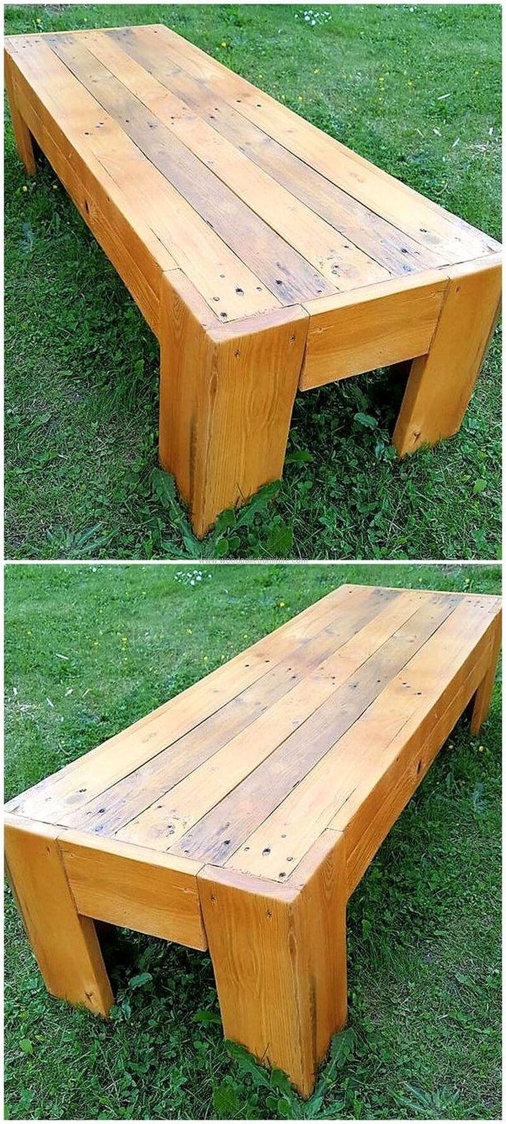 Best 25+ Pallet garden benches ideas on Pinterest