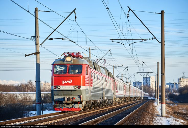 RailPictures.Net Photo: Russian Railways ChS7 at Moscow, Russia by Alexander Anichkin
