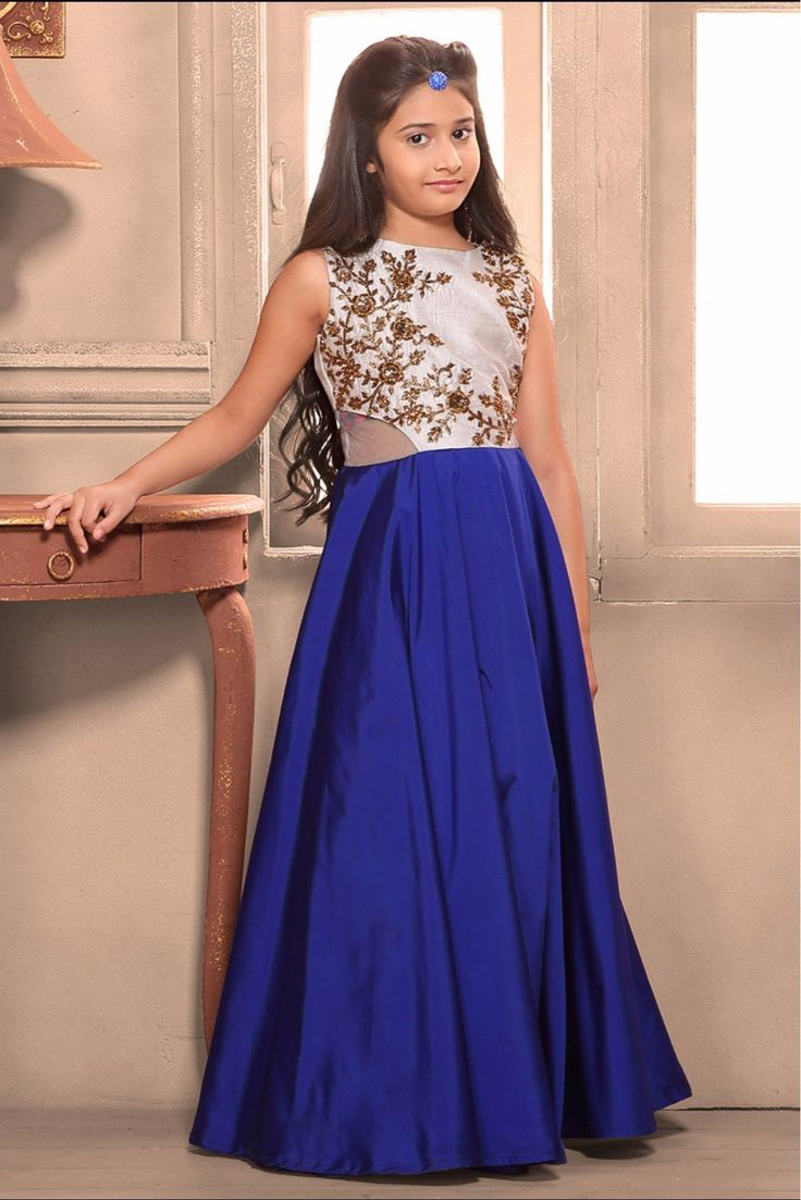 Buy latest Gowns for your kids for this #HoliParty
