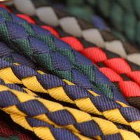 Paracord is a strong a durable material, initially designed for parachutes. Paracord comes in a variety of thicknesses and colors, providing an interesting visual statement while being light enough to allow you to carry multiple feet of this useful material. Many people commonly make necklaces with it using a square weave and two lengths of...