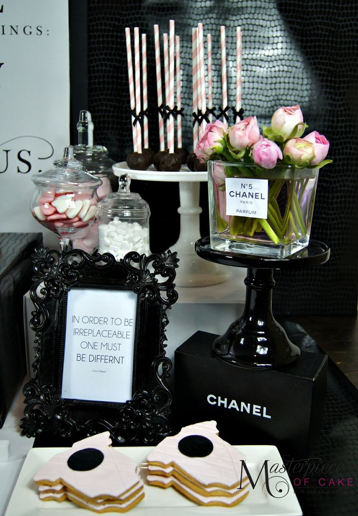 Best 25 Chanel Baby Shower Ideas Only On Pinterest