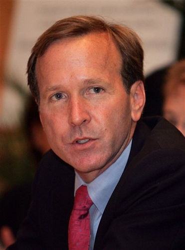 Neil Bush, born in 1955, businessman, and son of George H.W. and Barbara P Bush 41st #President of the United States 43rd #FirstLady. Siblings: George, Pauline (Robin), John (Jeb), Neil, Marvin, & Dorothy