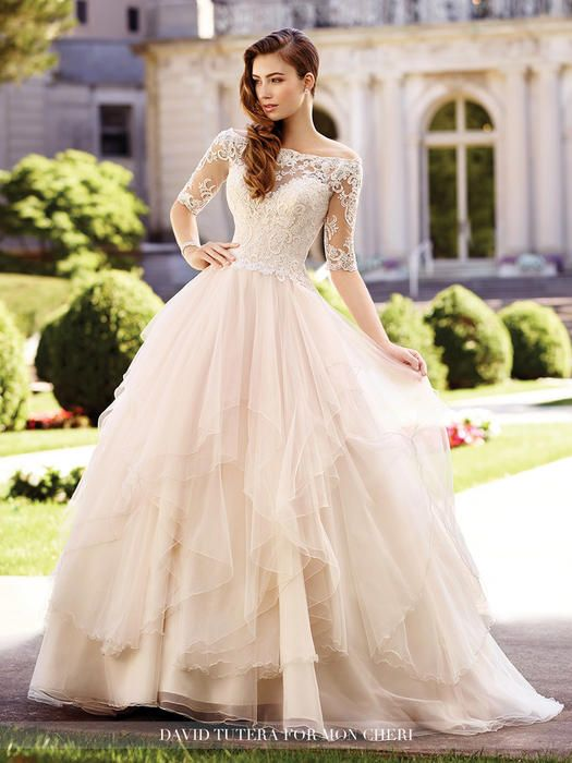 David Tutera Bridals 117292 David Tutera for Mon Cheri Bridal Shopusabridal.com by Bridal Warehouse - Bridal, Prom, Quinceanera, Special Occasion