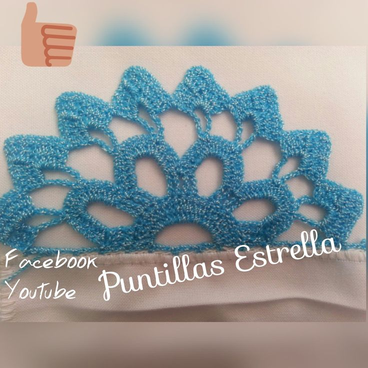 Puntillas A Crochet Youtube