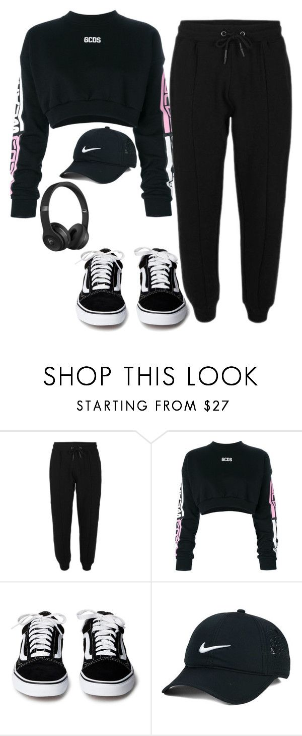 """Untitled"" by btsarmyjungkook on Polyvore featuring GCDS, NIKE and Beats by Dr. Dre"