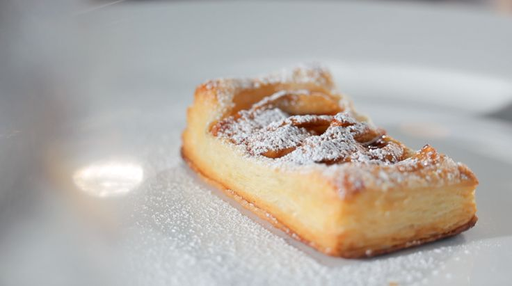 Puffed Pastry Apple Tart