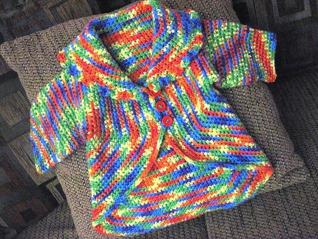 Cute Lil  39  Circle Jacket  free pattern