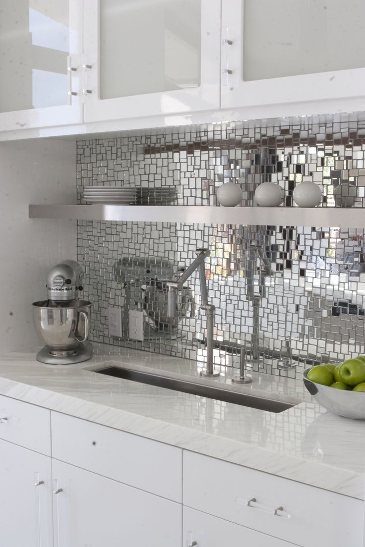Best 20+ Mirror backsplash ideas on Pinterest | Mirror splashback ...