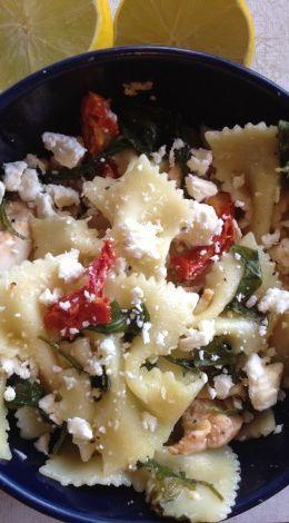 Nordstrom E-Bar Lemon Bowtie Pasta Salad MY FAVORITE SALAD IN THE WHOLE ENTIRE WORLD