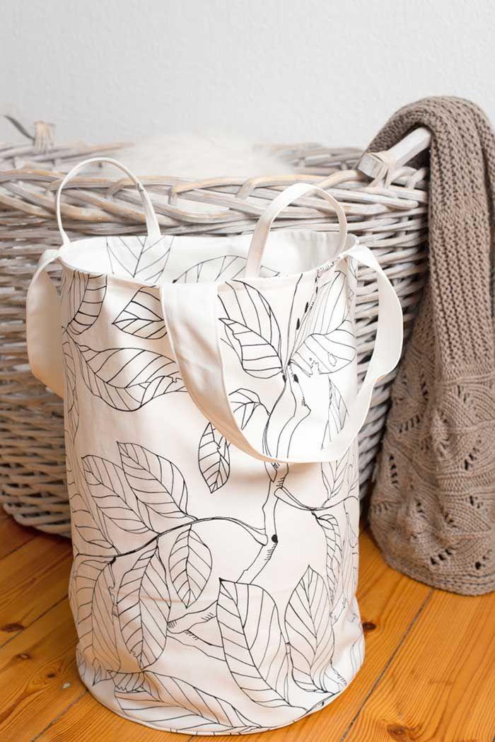 DIY: Runden Wäschesack nähen