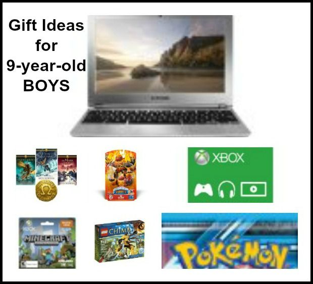 Gift Ideas For Boys 9 Year Old BoysMinecraft Chromebook And More