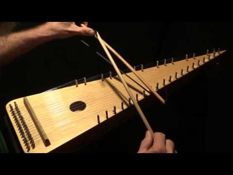 """Greensleeves"" on Bowed Psaltery - YouTube"