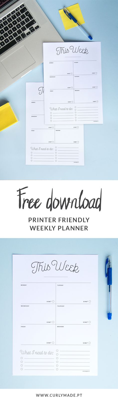 Best 25+ Weekly planner printable ideas on Pinterest Weekly - agenda download free