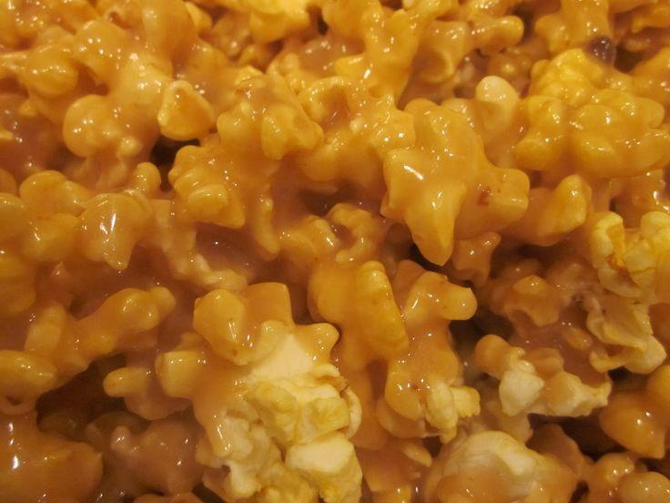 Aunt Val's CARAMEL- NOTE: AFTER Boiling for 2 mins, STIR in 1 teas Baking Soda - Stir Well. Great for CARAMEL CORN -or - ICE CREAM - DIP for APPLE Slices - Etc. (Makes Enough to cover 3 bag's of Microwave Popcorn). Pretty  Providence