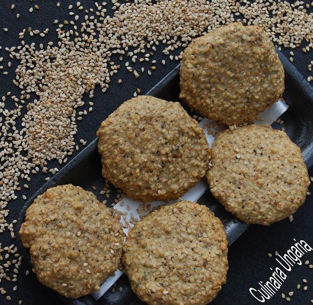Culinaria Ungaria: Sesam-Kekse aus Eiweiß!