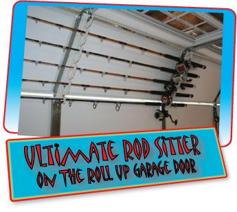 Ultimate rod sitter 10 rod storage rack lance 39 s fishing for Fishing rod storage ideas