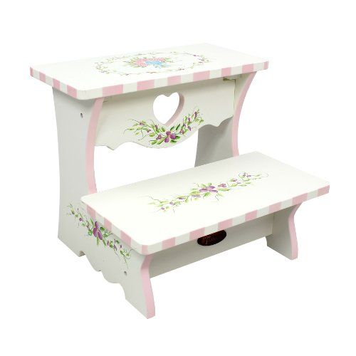 Fantasy Fields - Bouquet Step Stool Teamson Design Corp http://www.amazon.com/dp/B0056GKDQ4/ref=cm_sw_r_pi_dp_Z.zGwb1G578Q5