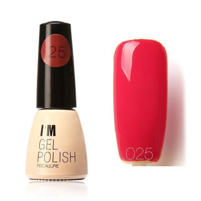 60 Colors Fast Dry UV Gel Nail Polish