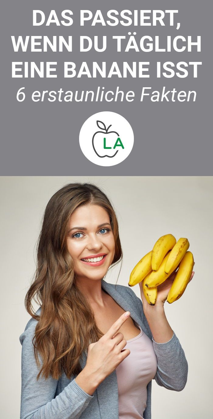 Banane – Wirkung auf die Gesundheit und beim Abnehmen