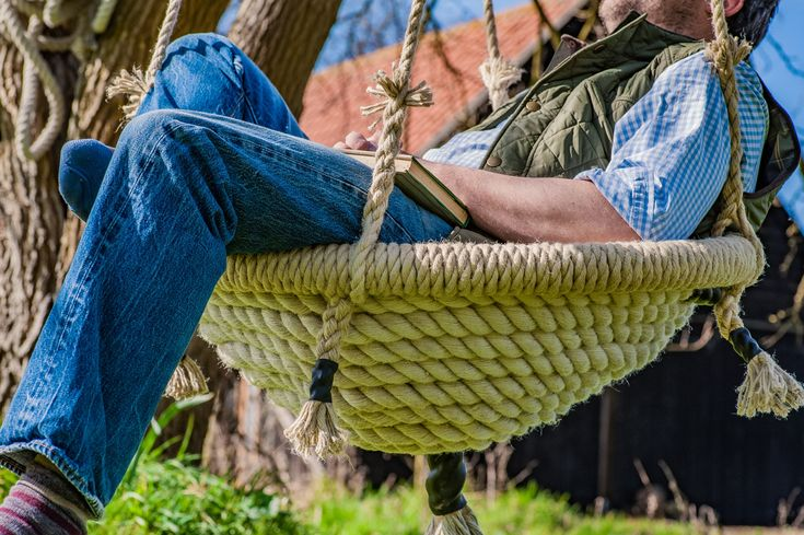 Our Large Nest Swing is sure to become your favourite place to relax with a good or simply stare up at the sky or tree.  Each and every one is beautifully handmade using the finest rope from Chatham Dockyard using traditional methods to ensure the highest quality so it will last for years to come.   Room for one or several little ones this swing is sure to be enjoyed by both children and adults alike.