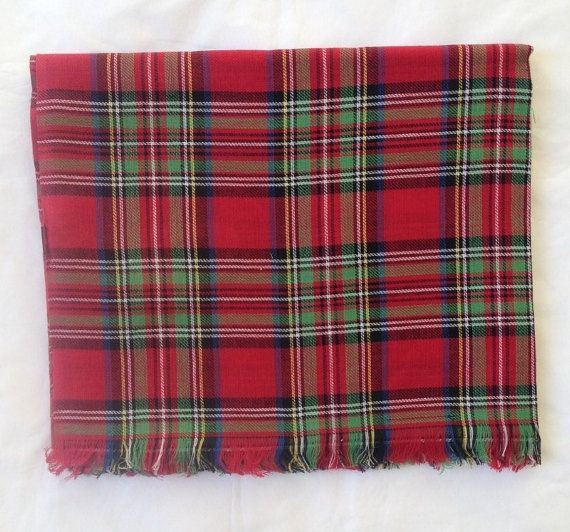 Royal Stewart Tartan Scarf in 100% cotton