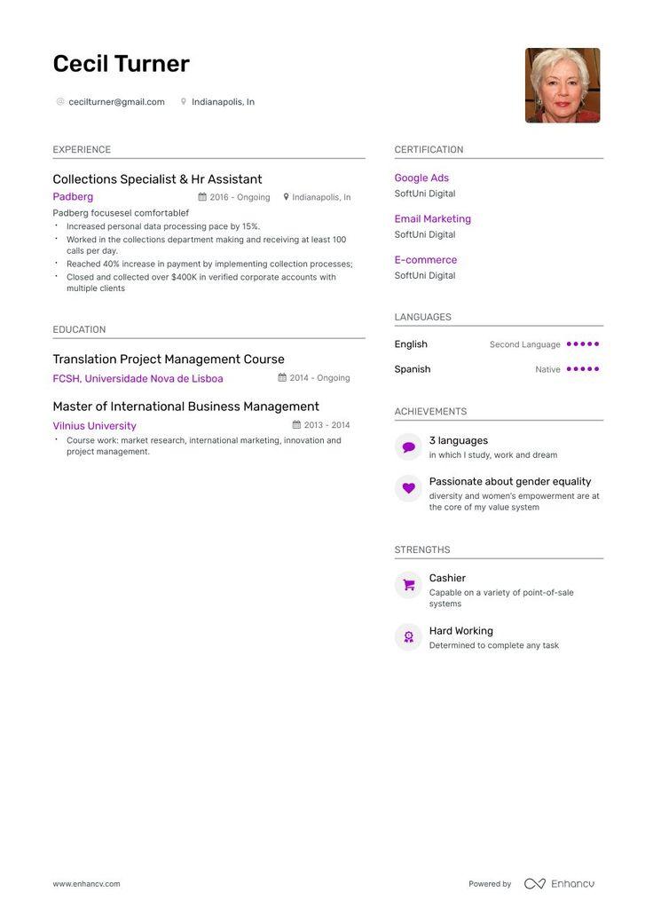 35++ Google resume templates 2019 ideas in 2021