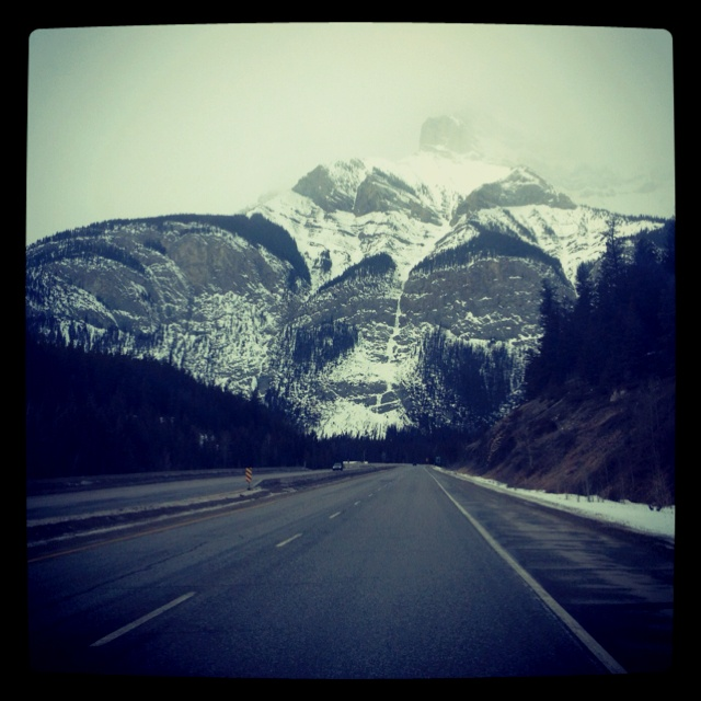 On the way to Invermere, BC.