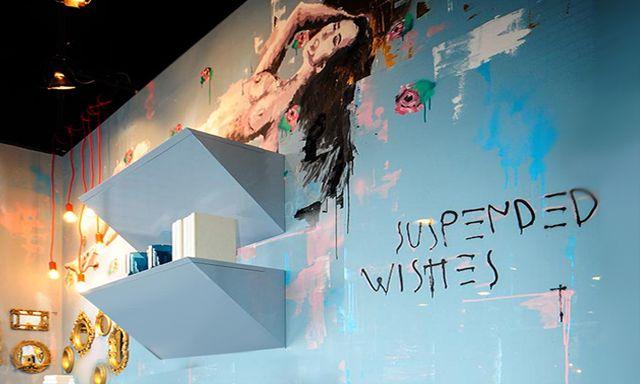 """Destaque tendências das cores no ambiente by Lizandra Maluf e Melissa Ferraz destaque para a pintura do artística Rien no blog da Espaço e Forma """"Como usar cores na decoração da sua casa""""(www.espacoeforma.com.br/blog/2015/11/03/como-usar-cores-na-decoracao-de-sua-casa/). #lizandramaluf #melissaferraz #artistarien #espacoeforma #decor #cores #pantone2015e2016 #tendencias #ficaadica #decoraçãonasuacasa"""